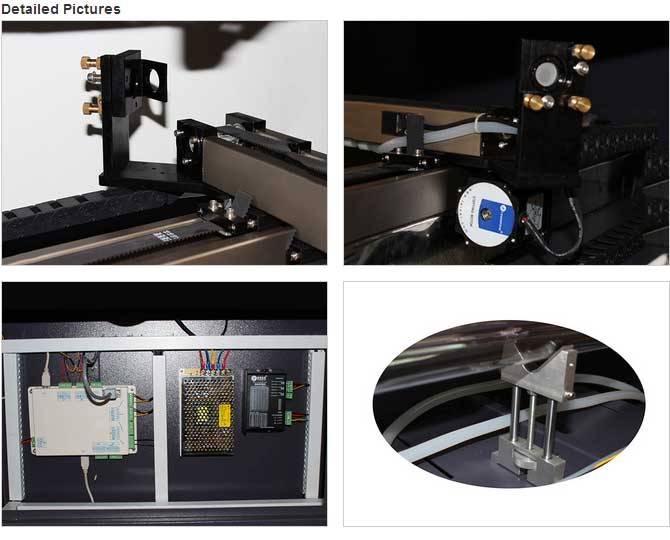 Etd series double head laser cutting machine eastern laser for Eastern air devices stepper motor